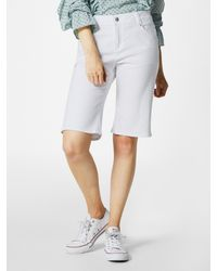 S.oliver Bermuda Hose - Weiß