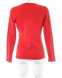 ESISTO V-Ausschnitt-Pullover - Rot