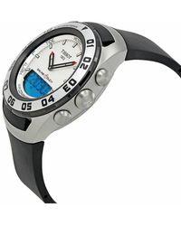 Tissot Tissot Herrenuhr Sailing Touch Alarm Chronograph - Weiß