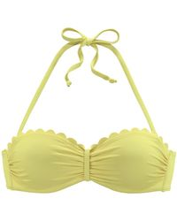 Lascana Bikinitop - Grün