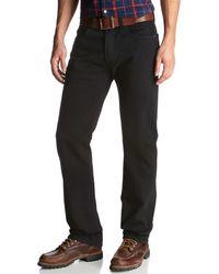 Levi's 5-Pocket-Jeans '501®' - Schwarz
