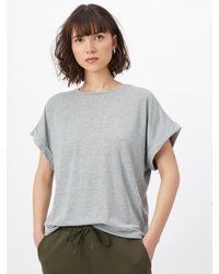 Noisy May Shirt 'SHELLY' - Grau