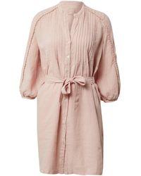 120% Lino Kleid - Pink