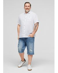 S.oliver Hemd - Weiß