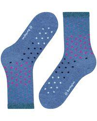 Burlington Socken - Blau
