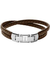 Fossil Armband - Braun