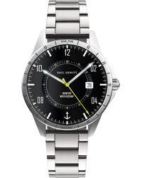 PAUL HEWITT Uhr 2-tlg. mit Wechselband - Mehrfarbig