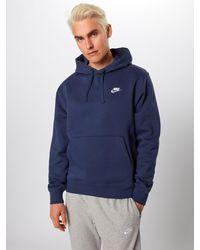 Nike Sweatshirt 'Club' - Blau