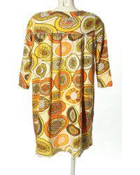 ONLY Jerseykleid - Gelb