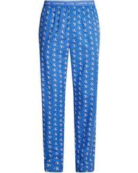 Calvin Klein Pyjamahose - Blau