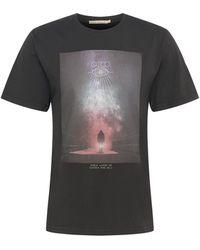 Nudie Jeans Shirt 'roy enter infinity' - Schwarz