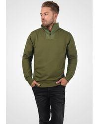 Solid Sweatshirt 'Jorke' - Grün