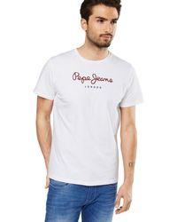 Pepe Jeans - T-Shirt 'EGGO' - Lyst