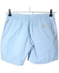 Solid Shorts - Blau
