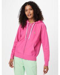 Polo Ralph Lauren Sweatjacke - Pink