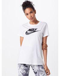 Nike Shirt 'Futura' - Weiß