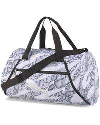 PUMA Essentials Sporttasche - Weiß