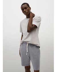 Mango Pyjama 'Begur' - Grau