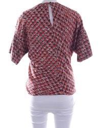 Louis Vuitton Seidenbluse - Rot