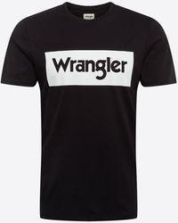Wrangler - Shirt 'SS LOGO TEE' - Lyst