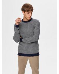 SELECTED Pullover 'Haiden' - Grau