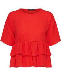 Boohoo Shirt - Rot