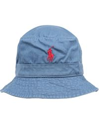 Polo Ralph Lauren Hut - Blau