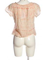 ONLY Kurzarm-Bluse - Mehrfarbig