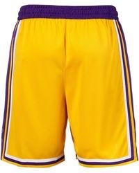 Nike Shorts »Los Angeles Lakers« - Gelb