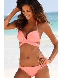 S.oliver Push-Up-Bikini - Pink