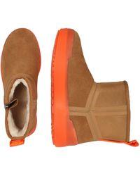 UGG Stiefel aus Leder - Orange