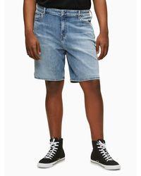 Calvin Klein 'Denim Shorts' - Blau