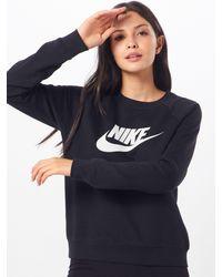 Nike Sweatshirt 'Essntl' - Blau
