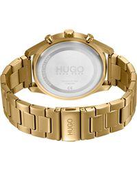 HUGO Armbanduhr - Mettallic
