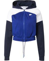 Lacoste Sport Sweatjacke - Blau