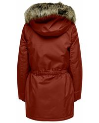 ONLY Parka - Rot
