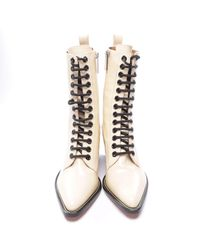 Chloé Stiefel - Weiß