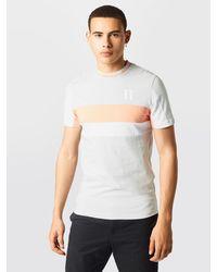 11 Degrees T-Shirt 'CUT AND SEW' - Mehrfarbig