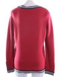 Chanel Pullover / Strickjacke - Rot