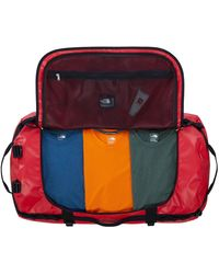 The North Face Reisetasche 'Base Camp' - Rot