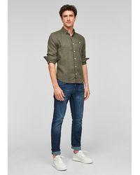 S.oliver Hemd - Grün