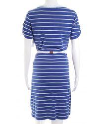 Ralph Lauren Jerseykleid - Blau
