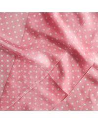 Codello Seidenschal mit Punkten - Pink