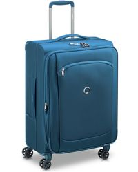 Delsey 4-Rollen Trolley - Blau