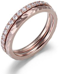 Firetti Ring-set - Mehrfarbig