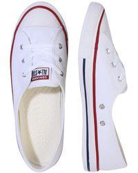 Converse Sneaker 'Star Ballet' - Weiß