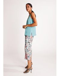 Comma, - Bluse - Lyst