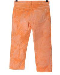 Gap High Waist Jeans - Orange