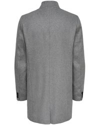 Only & Sons Trenchcoat - Grau
