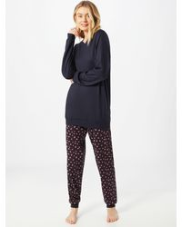 CALIDA Pyjama - Blau